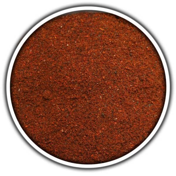 Rote Jalapeno Chili Chipotle gemahlen