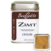 Ceylon Zimt gemahlen
