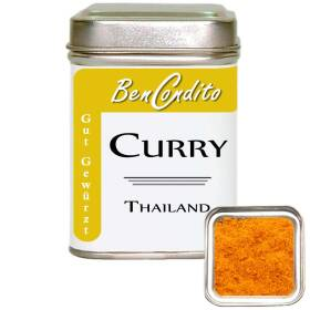 Curry (Currypulver) Thailand 80 gr. Dose