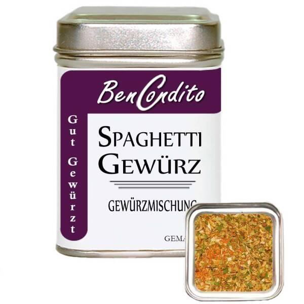 Spaghetti Gewürz 90 Gr. Dose