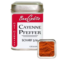 Cayennepfeffer 80 Gr .Dose
