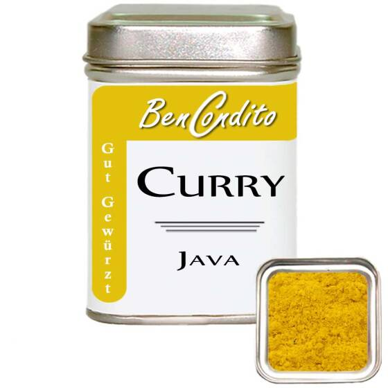 Curry ( Currypulver ) Java 80 Gr. Dose