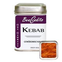 Kebab oder Döner Gewürz 80 Gr. Dose
