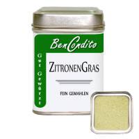 Zitronengras gemahlen