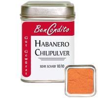 Habanero Chili gemahlen